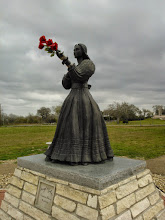 Photo: Bronze of the Angel of Goliad 3/9/13