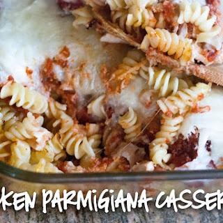 Chicken Parmigiana Casserole