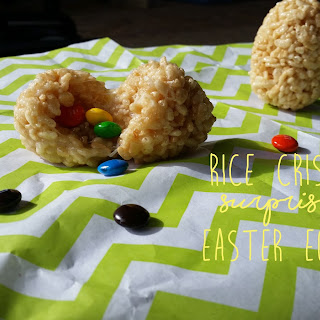 Rice Crispy Surprise Eggs Recipe