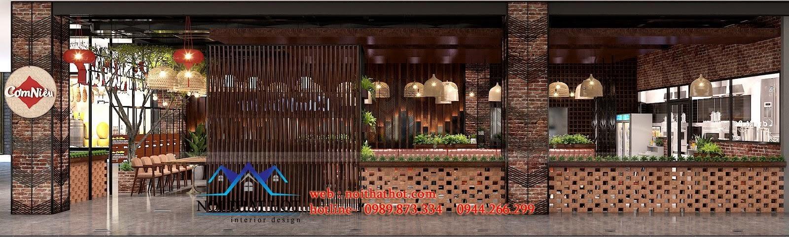 thiết kế nhà hàng cổ điển