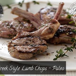 Greek Style Lamb Chops - Paleo.