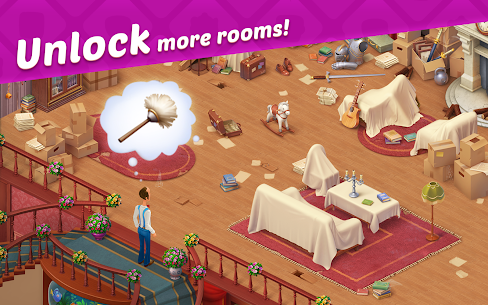 Homescapes Mod Apk 4.9.1 (Unlimited Stars) 6