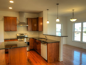 Photo: The kitchen and breakfast area in the HAMILTON