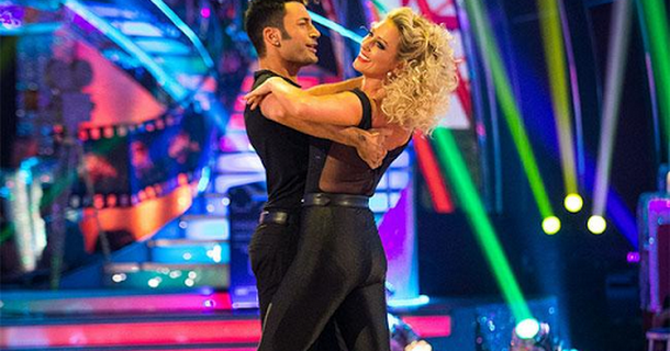 Faye Tozer's Strictly routines leave her 'ridiculously bruised'