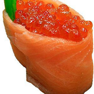 Red Caviar Appetizer