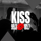 99.3 and 105.7 Kiss FM
