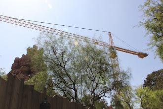 Photo: Crane at Big Thunder