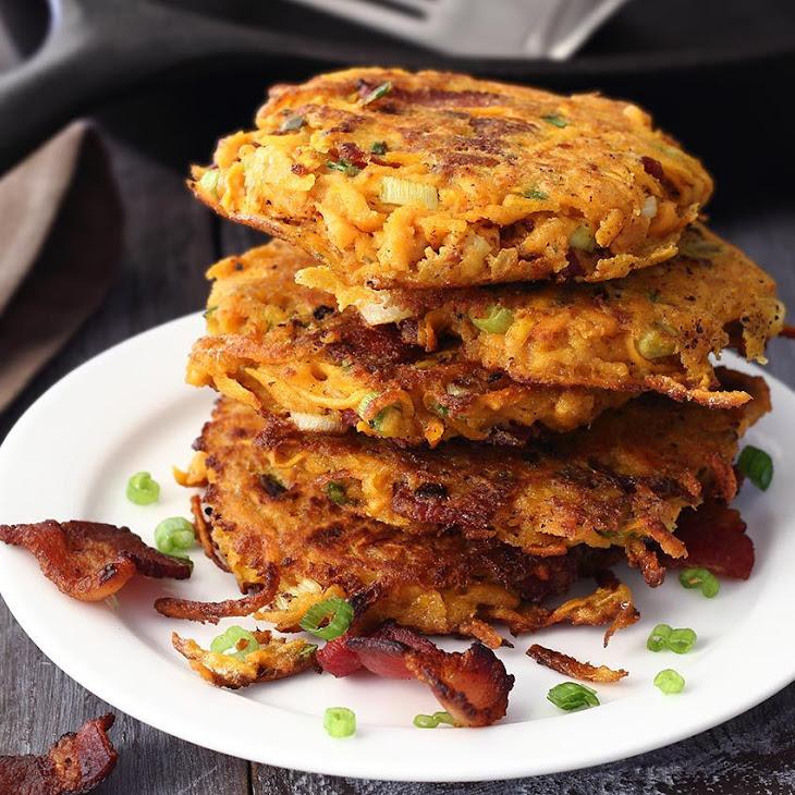 Easy Paleo Sweet Potato & Bacon Breakfast Fritters