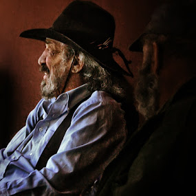 The Cowboy by Ian McConnell - People Portraits of Men ( cowboy, arizona )