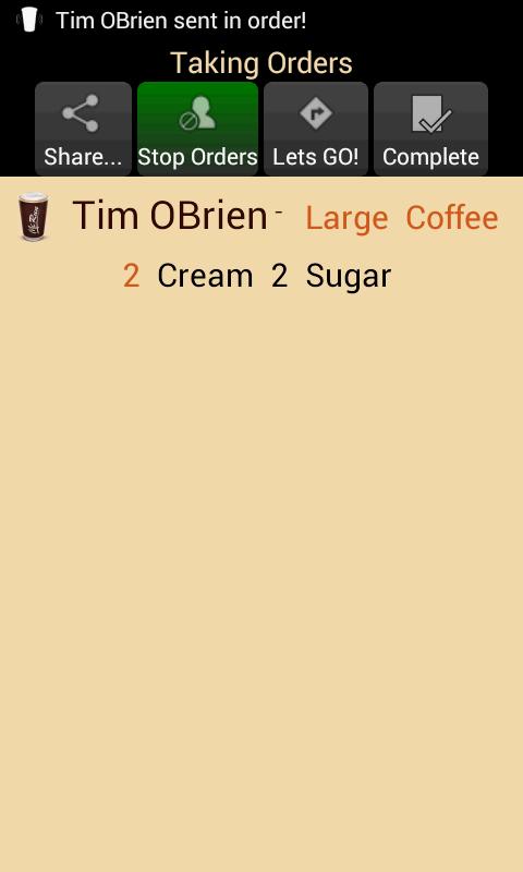 Скриншот McRun - Coffee Run