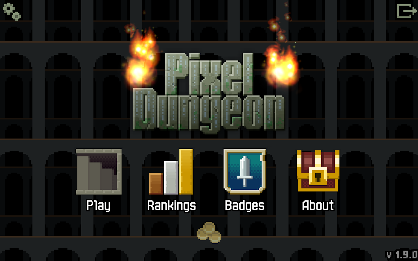Pixel Dungeon: captura de pantalla