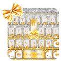 Gold Bow Keyboard theme download