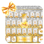 Golden Bow Keyboard Theme