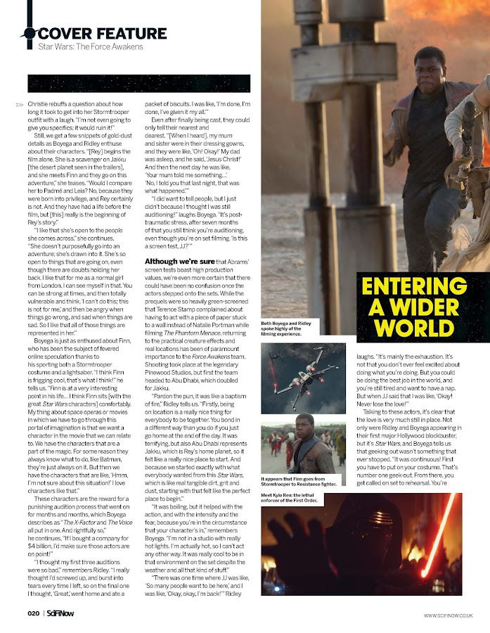 SciFiNow- screenshot