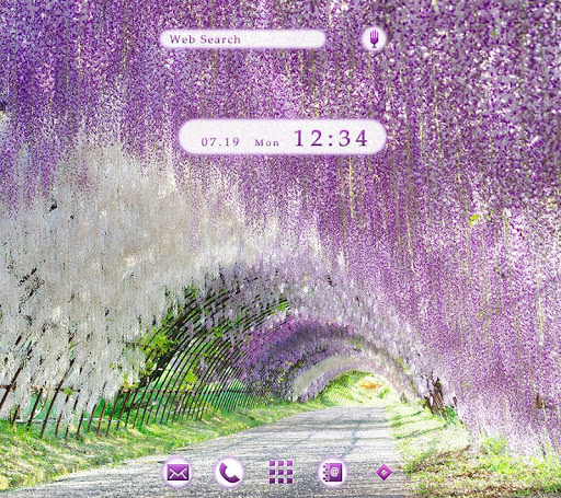 Wallpaper Wisteria Tunnel 1.0.1 Windows u7528 1