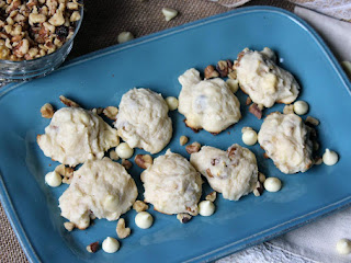 Walnut White Chocolate Cream Cheese Cookie Recipe
