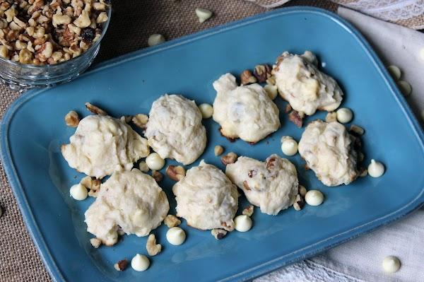 Walnut White Chocolate Cream Cheese Cookie Recipe