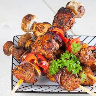 Bbq Chicken Shashlik.