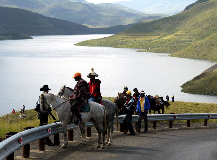 Lesotho Highlands Water Project. Picture: REUTERS