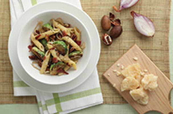 Barilla Bacon and Brussels Sprouts Penne