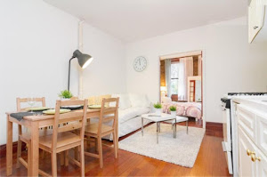 west village living space  studio apartment