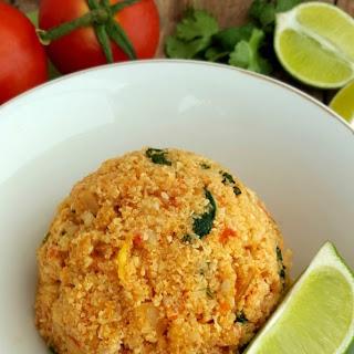 Spanish Cauliflower Rice.