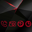 Red Live light Theme icon
