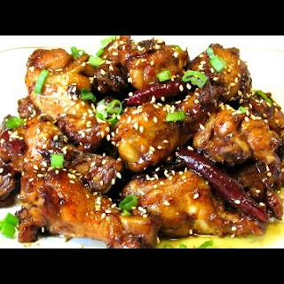 Coca Cola Chicken Wings - Chinese.