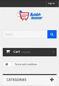 SulabhBazaar.com screenshot 2
