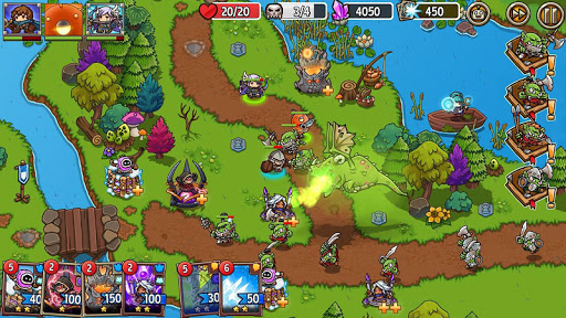 Crazy Defense Heroes: Tower Defense Strategy TD 1.9.9 screenshots 8