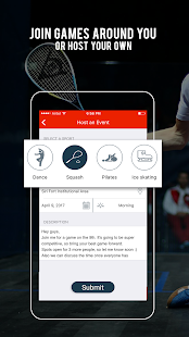 Sportido - Find People & Places to Play Any Sport- screenshot thumbnail