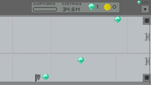 Break Guns Using Gems! - Endless Runner  captures d'u00e9cran 2