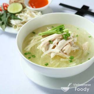 Vietnamese Chicken and Cellophane Noodle Soup (Mien Ga Recipe)