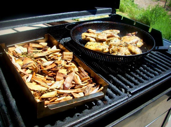 Using A Smoker On Your Gas Grill Recipe