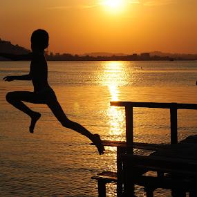 Jump. by Arief Tisnadi Wasono - Babies & Children Children Candids