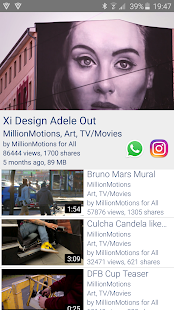 videmic  offline video sharing- screenshot thumbnail