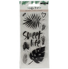 Crate Paper Clear Stamps 9/Pkg - Wild Heart