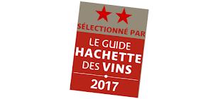 le Domaine Patrice Magni à chateauneuf du Pape obtient 2 étoiles au Guide Hachette