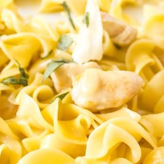 One Pan, Chicken and Parmigiano-Reggiano Noodle Pasta Skillet