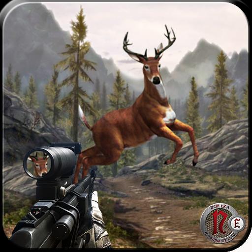 野鹿狩獵 2015 — — 狙擊手 動作 LOGO-玩APPs