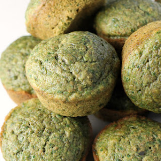 Healthy Green Muffins.