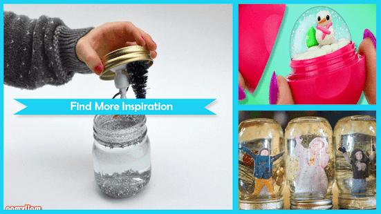 Amazing DIY Snow Globes - náhled