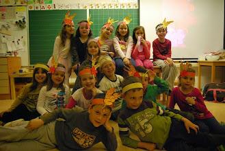 Photo: Pozno ponoči, na Noč knjige, na krilih domišljije, v Osnovni šoli Simona Jenka Kranj - matična šola. (Foto Tonja Krek)  http://www.osjenka.si/?p=5124
