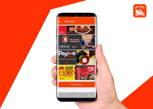 Oke Jack - Ojek Online, Pesan Makanan & Belanja 2.5.9 screenshots 2