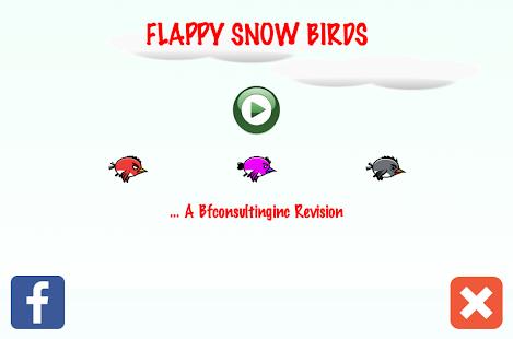 Flappy Snow Birds - náhled