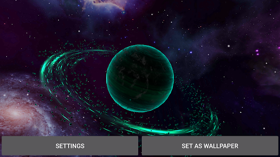 Gyro Alien Planets 3D Screenshot