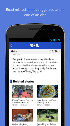 VOA News 3.3.1 screenshots 8