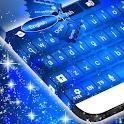 Blue GO Keyboard icon