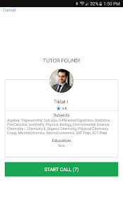Helpster  Live Homework tutor- screenshot thumbnail