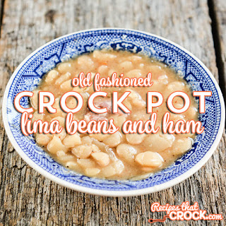 Crock Pot Lima Beans Ham Recipes